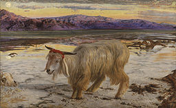 William Holman Hunt The Scapegoat